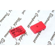 德國WIMA MKP10 0.1uF (0.1µF 100nF) 250V 5% 腳距:15mm 金屬膜電容器
