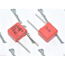 德國WIMA MKP-X2 0.1uF (100nF) 275Vac 10mm 金屬膜電容器