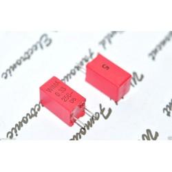德國WIMA MKP2 0.33uF 250V 5% 腳距:5mm 金屬膜電容器