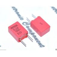 WIMA MKC2 0.22uF 100V 5% 腳距:5mm 金屬膜電容