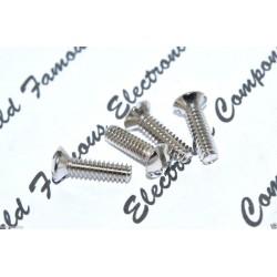 COOPER 符合 面板/插座/開關面板 螺絲孔 專用純銅鍍鎳螺絲 x 1
