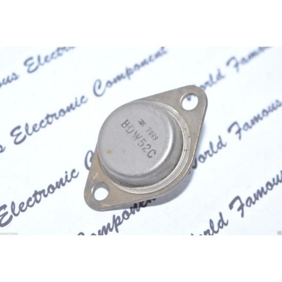 BDW52C 100V 15A 125W PNP 電晶體 1顆1標