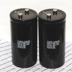 美國CDE 8200uF 400V 3186 3186GY822M400MPC1 鎖螺絲型 濾波電容