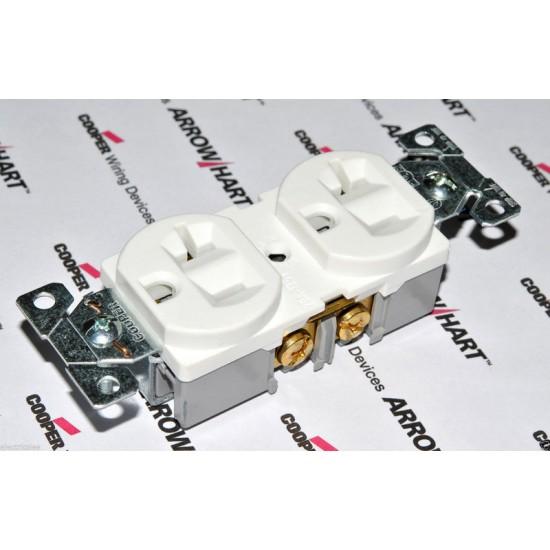 美國COOPER BR20W 125V 20A NEMA 5-20 (DUPLEX型) 商用級插座