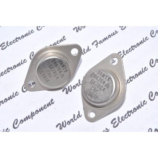 2N6764 / JANTX2N6764 GE/RCA 100v 38A 150w TO-3 電晶體 1顆1標