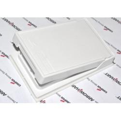 美國 COOPER S2966W 單聯方形 白色 塑膠 插座保護蓋板 防水防塵 DECORATOR型 (方型)