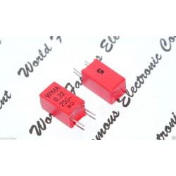 德國WIMA MKP2 0.22uF 250V 5% 腳距:5mm 金屬膜電容器 1pcs