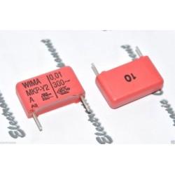 德國WIMA MKP-Y2 0.01uF 300V AC 10% 腳距:15mm RFI 金屬膜電容 Y電容