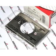 美國 COOPER 大電流單聯單孔白鐵蓋板&面板 93111 (Locking 型)材質304SS