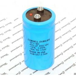 美國CDE 470uF 450V ST1180 鎖螺絲型 濾波電容