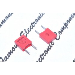 德國WIMA MKP2 0.015uF 100V 腳距:5mm PP 金屬膜電容器