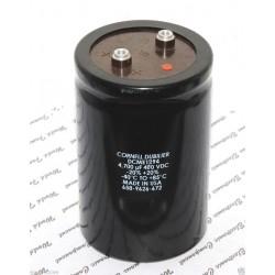 美國CDE 4700uF 400V DCME1294 鎖螺絲型 濾波電容