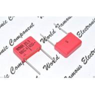 WIMA MKC4 0.1uF 400V 5% 腳距:15mm Polycarbonate 金屬膜電容器