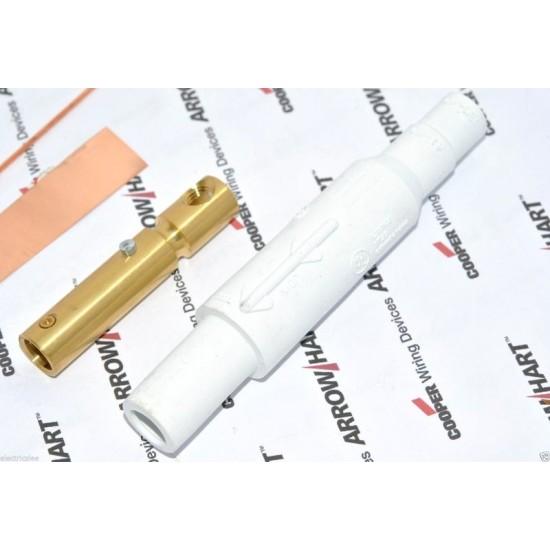 COOPER E1015-8336 150A 600V Cam-Lok J Powe 白色 大電流電源母頭