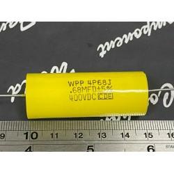 美國CDE WPP 0.68uF 400V WPP4P68J 金屬膜電容器