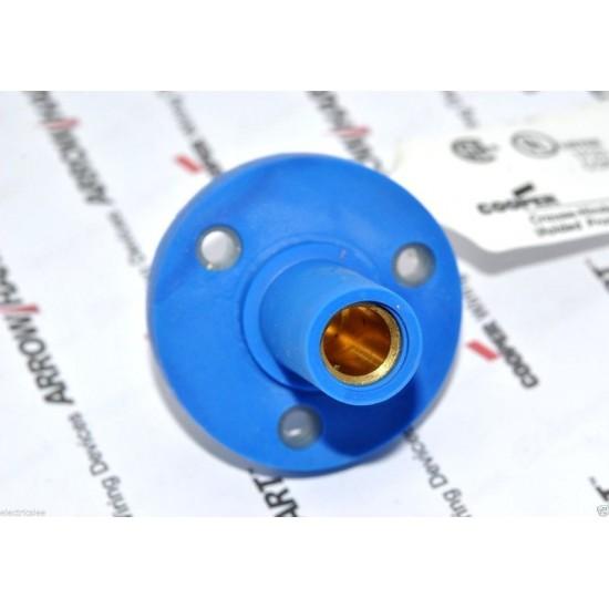 COOPER E1015-1631 150A 600V Cam-Lok J Powe 藍色 大電流電源母座