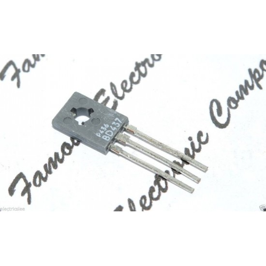 BD437 NPN 45V 4A 36W 電晶體 1顆1標