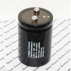 美國CDE 2200uF 400V 3186FD222M400MPC1 鎖螺絲型 濾波電容