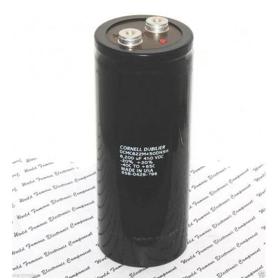 美國CDE 8200uF 450V DCMC822M450DN5H 鎖螺絲型 濾波電容