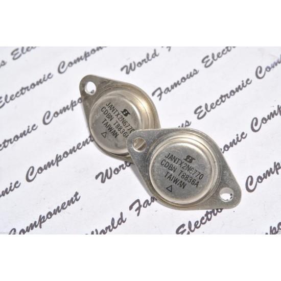 2N6770 / JANTX2N6770 TO-3 電晶體 1顆1標