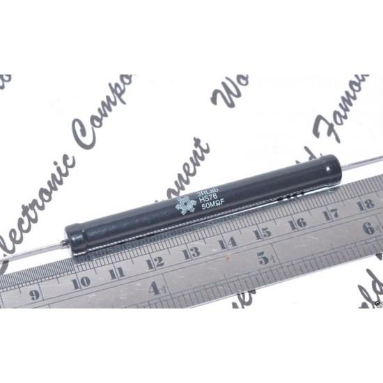 3RLab HS76 50M 4.5W 1% 22.5KV (22500V) 耐脈衝低溫度係數高壓無感電阻 1顆1標