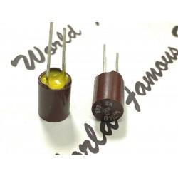 德國ROE EKU 4.7uF 40V 紅色 無極性 立式電解電容 BP/NP 音響補品 x1
