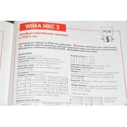 WIMA MKC2 0.01uF 100V 5% 腳距:5mm 金屬膜電容