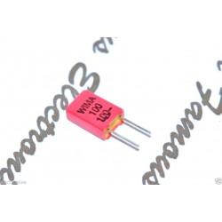 德國WIMA FKP02 100pF 100V 10% 腳距:2.5mm 金屬膜電容器