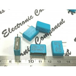瑞典RIFA PHE427 0.1uF 250V 5% 腳距:15mm 金屬膜電容 PHE427HB6100J x 1顆