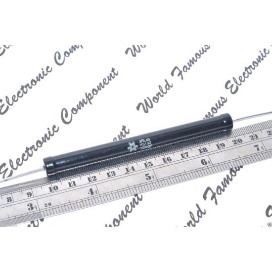 3RLab HS102 100M 6W 1% 32KV (32000V) 耐脈衝低溫度係數高壓無感電阻 1顆1標