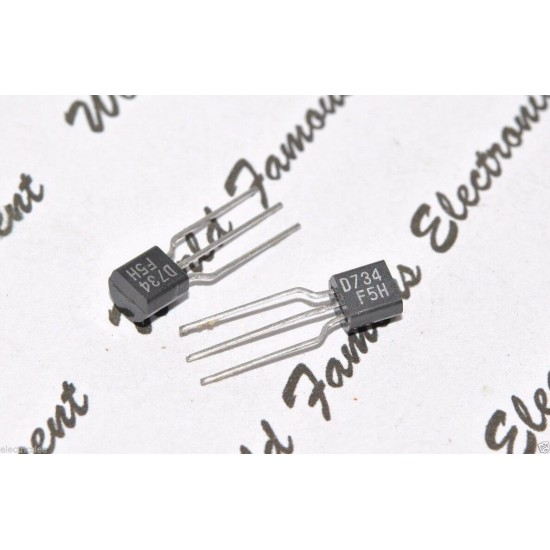2SD734 電晶體 x1pc