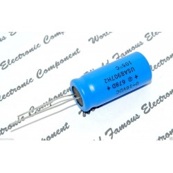 SPRAGUE 678D 2200uF 16V 立式電解電容 1顆1標