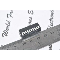 CTS 195-10 T128 10-PIN DIP 指撥開關 撥碼開關