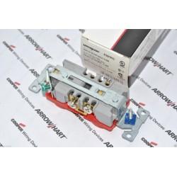 美國COOPER 醫療級插座 8300RD 紅色 NEMA 5-20 125V 20A (DUPLEX型) 一般型