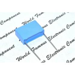 1個 - PHILIPS MKP335 0.22uF 250V AC 20% 腳距:22.5mm RFI X2 開關 防火花 金屬膜電容