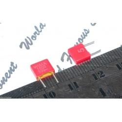 德國 WIMA FKS2 1500P (1.5nF) 100V 5% 腳距:5mm 金屬膜電容器