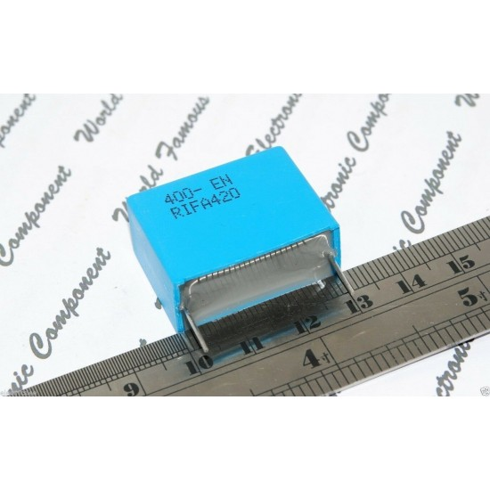 RIFA PHE420 1uF 400V 5% 腳距:27.5mm 金屬膜電容 x 1顆
