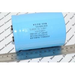 美國CDE 29000uF (29000µF) 100V 101X293U100DC2B 鎖螺絲型 濾波電容