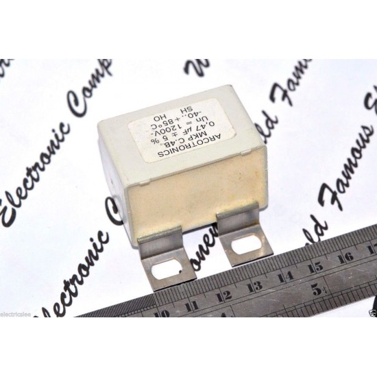 ARCOTRONICS SNUBBER MKP 0.47uF 1200V 5% (MKP C.4B) 電容