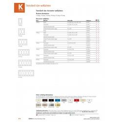 美國 EATON COOPER 93401 單聯方形 白鐵蓋板 (DECORATOR型)
