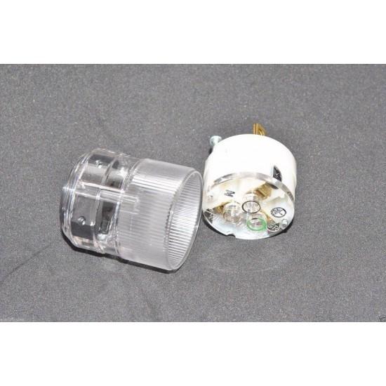 美國 MARINCO 公頭 8215T 醫療級 透明 線材接頭 音響專用