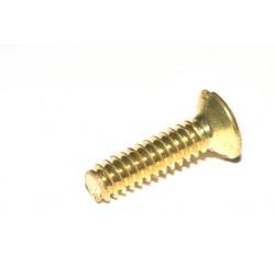 COOPER 面板 插座 符合插座螺絲孔 專用純銅鍍金螺絲 X 1PCS