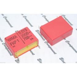 德國WIMA FKP1 0.015uf 2000V 5% 腳距:27.5mm 金屬膜電容