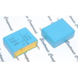 德國WIMA FKP1 0.01uF 1600V 5% 腳距:22.5mm  金屬膜電容