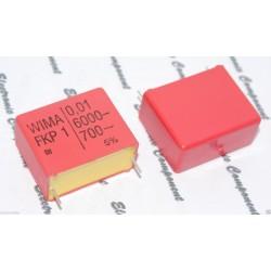 德國WIMA FKP1 0.01uf 6000V 5% 腳距:27.5mm 金屬膜電容