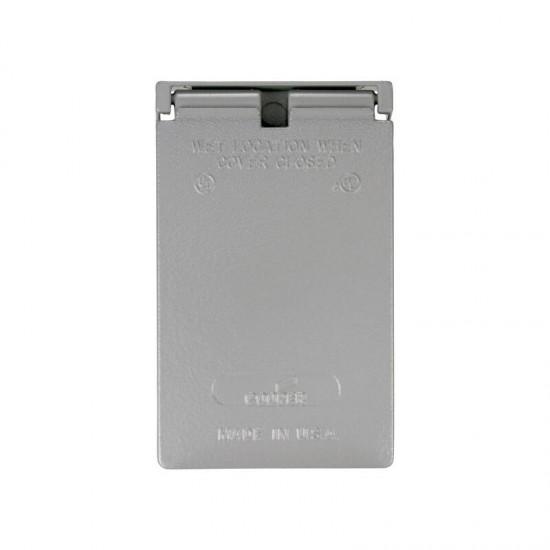 EATON COOPER S993 大電流及防鬆插座 單聯 直立式 金屬 鋁製 防水蓋板 不含插座