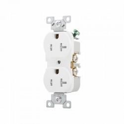 美國 EATON COOPER TRBR20W 125V 20A 5-20R 防誤觸 防觸電 商用級 插座 Duplex型
