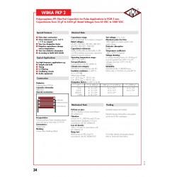 德國 WIMA FKP2 0.01uf (0,01µF 10nF) 630V 2.5% 腳距:5mm Polypropylene Capacitor 金屬膜電容器