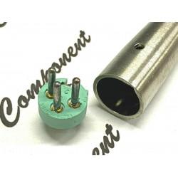 Switchcraft 鍍銀接點 CANNON(XLR)平衡接頭 公頭