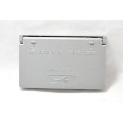 美國 COOPER S1966 插座保護蓋板 防水防塵 單聯 鋁製 (DECORATOR型)